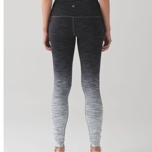 Lululemon wunder under ombré high rise leggings 6